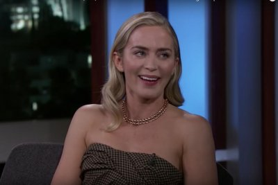 Emily Blunt says Judi Dench dissuaded her from pop star career