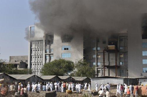 Fire at COVID-19 vaccine facility in India kills five