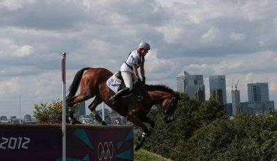 Germany dominates equestrian finals