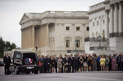 Lautenberg remembered as 'good man' in funeral attended by hundreds