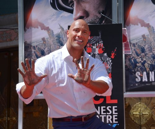 Dwayne Johnson honored with Hollywood handprint ceremony