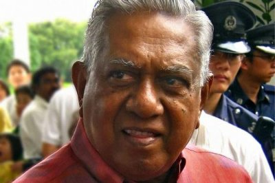 Former Singapore President S.R. Nathan dies at 92