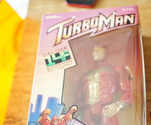 Kickstarter campaign recreates 'Turbo Man' toy from 'Jingle All the Way'