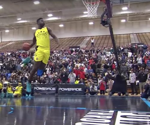 Zion Williamson: High school basketball phenom wins dunk-off