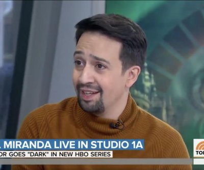 Lin-Manuel Miranda was 'terrified' during portrait sitting