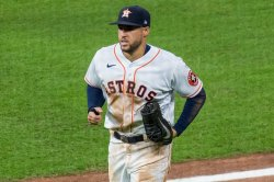 Springer homers twice to lead Astros past Athletics in Game 2 of ALDS