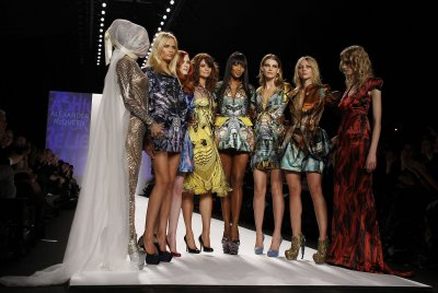 Alexander McQueen dresses to be auctioned