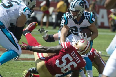 Panthers' McCaffrey downplays added muscle mass