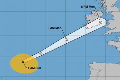 Helene becomes post-tropical cyclone heading to Ireland, U.K.