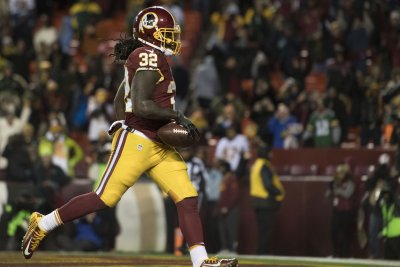 Redskins RB Kelley placed on injured reserve