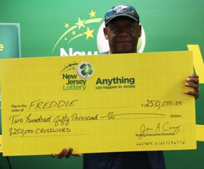 New Jersey man wins a second lottery top prize two years later