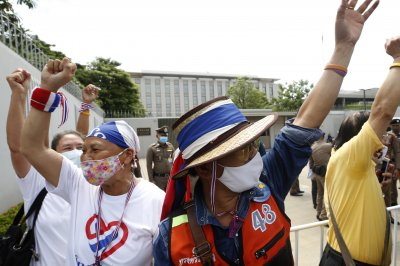 Thailand's royalists decry foreign influence as U.S. Embassy issues response