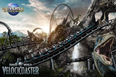 Universal Orlando Resort announces new 'Jurassic World' roller coaster
