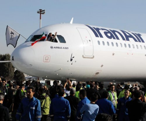 Iran takes delivery of first new Airbus planes since end of sanctions