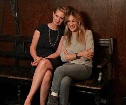 Sarah Jessica Parker, Cynthia Nixon reunite amid 'Sex and the City' drama