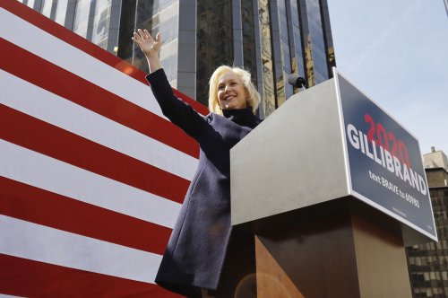 Sen. Kirsten Gillibrand kicks off presidential bid in New York rally