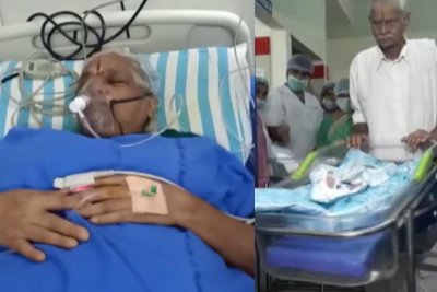 73-year-old woman gives birth to twins in India