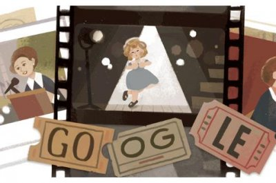 Google honors Shirley Temple with new Doodle