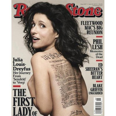 Julia Louis-Dreyfus' faux 'U.S. Constitution' tattoo sends history buffs into an uproar