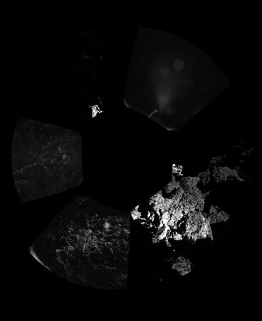 Philae lander detects organic molecules on comet's surface