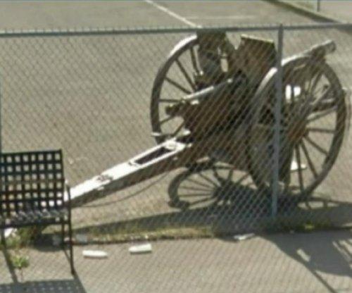 World War I cannon stolen from California veterans home