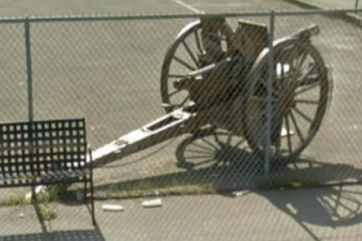 World War I cannon stolen from California veterans home
