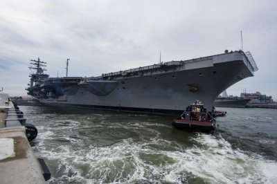 USS Dwight D. Eisenhower prepares for 6-month overhaul in Norfolk