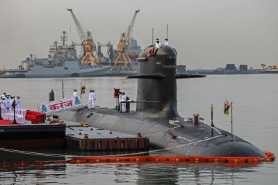 Pakistan says it's intercepted Indian military submarine for 3rd time in 5 years