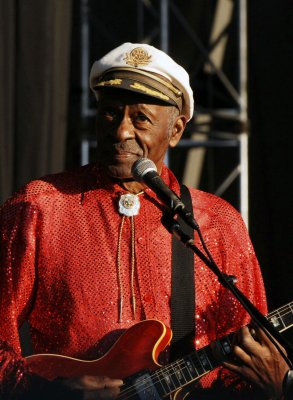 Chuck Berry's house listed as historic