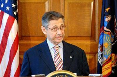N.Y. State Senator Silver arrested on corruption charges