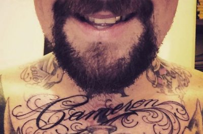 Benji Madden gets wife Cameron Diaz's name tattooed on his chest
