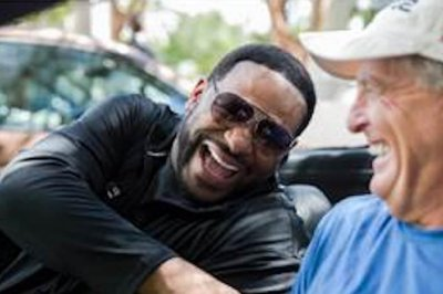 Fred Funk, Jerome Bettis using fitness road trip to showcase workouts