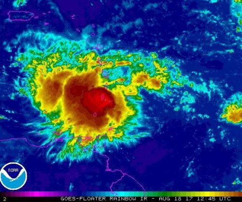 Caribbean's Windward Islands prepare for Tropical Storm Harvey