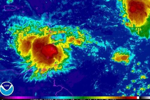 Caribbean's Windward Islands prepare for Tropical Storm Harvey