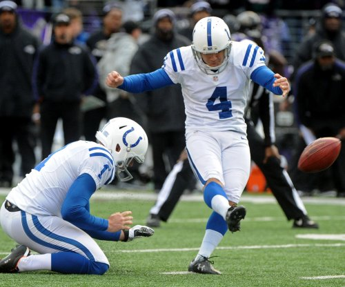 Indianapolis Colts kicker Adam Vinateri: No retirement in sight