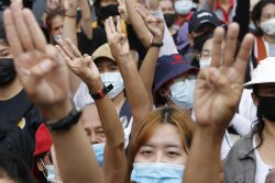 Thailand charges protesters with insulting monarchy