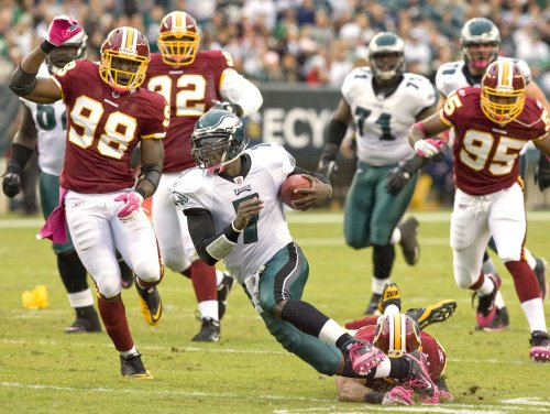 Eagles' Vick won't play this week