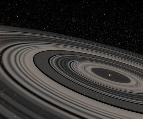 Study reveals planet with rings 200 times larger than Saturn's