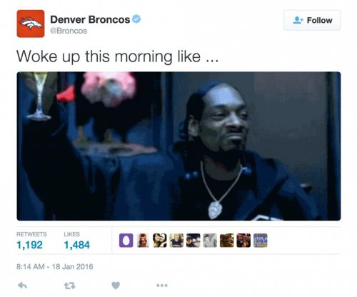 Denver Broncos mock Snoop Dogg after beating Pittsburgh Steelers