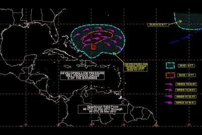 Storm off Bahamas has fleeting chance of becoming early tropical storm