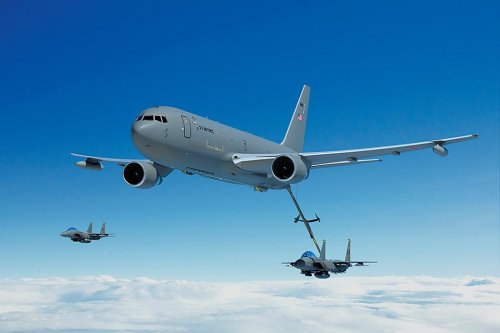 Boeing gets $59 million contract mod for KC-46 production
