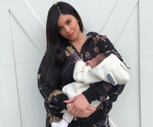 Kylie Jenner holds daughter Stormi in new photos: 'My angel baby'