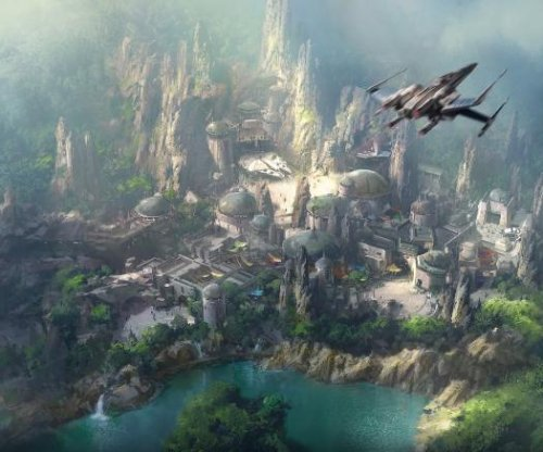 Disney showcases construction site for 'Star Wars' theme parks