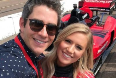 Arie Luyendyk Jr., Lauren Burnham enjoy IndyCar date