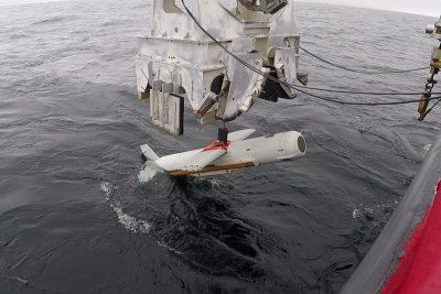 U.S. Navy pleased with improvement, function of new towed minehunting sonar