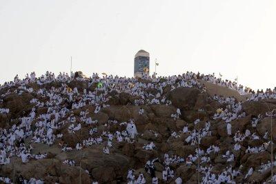 Hajj pilgrims make trek to Mount Arafat amid COVID-19 safeguards