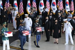 South Korea's Moon Jae-in views war remains transfer, urges peace