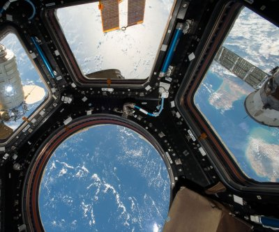 A pathogenic fungus grows in space