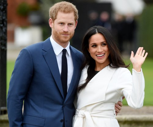 Prince Harry, Meghan Markle visit Edinburgh Castle