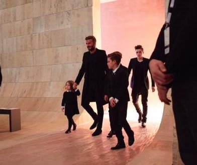 Victoria Beckham shares family photo from NYFW